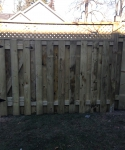 5+1 with Privacy Lattice and Gate Insert in Panel